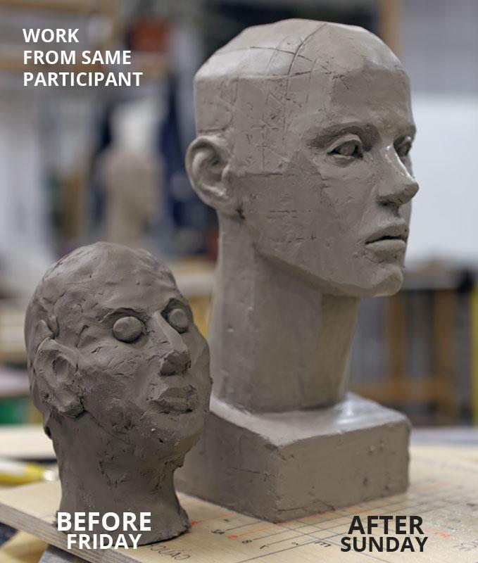 sculpting class Coudari